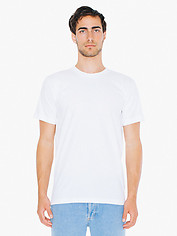 American Apparel Cotton Short Sleeve T - White