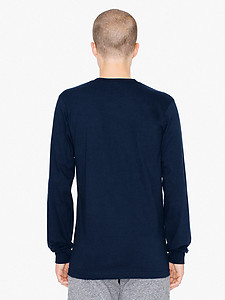American Apparel Cotton Long Sleeve T - Colours