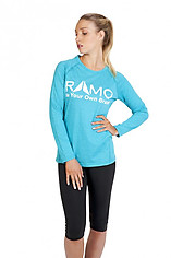 Ramo Ladies Heather Longsleeve Tee