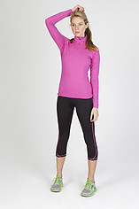 Ramo Ladies Heather Half-Zip