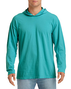 Comfort Colours 4900 CC Long Sleeve Hooded Tee - XXL
