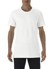 Anvil 5624 Adult Long & Lean Tee - White