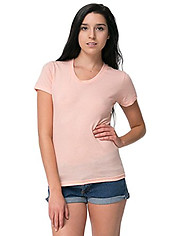 American Apparel Ladies Cotton Short Sleeve T - Colours