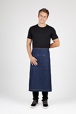 Ramo Long Waist Cotton Denim Apron