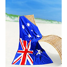 Aussie Flag Beach Towel