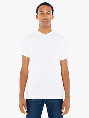 American Apparel Polycotton Short Sleeve T - White