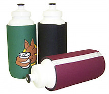 Sports Bottle with Neoprene Sleeve