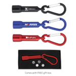 Carabiner LED Flashlight w/ Gift Box