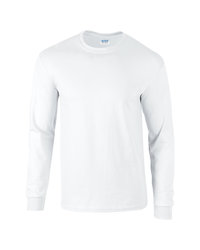 Gildan Long Sleeve Tee 2400- White