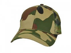 Camo 6-Panel/100% with Mesh Backing