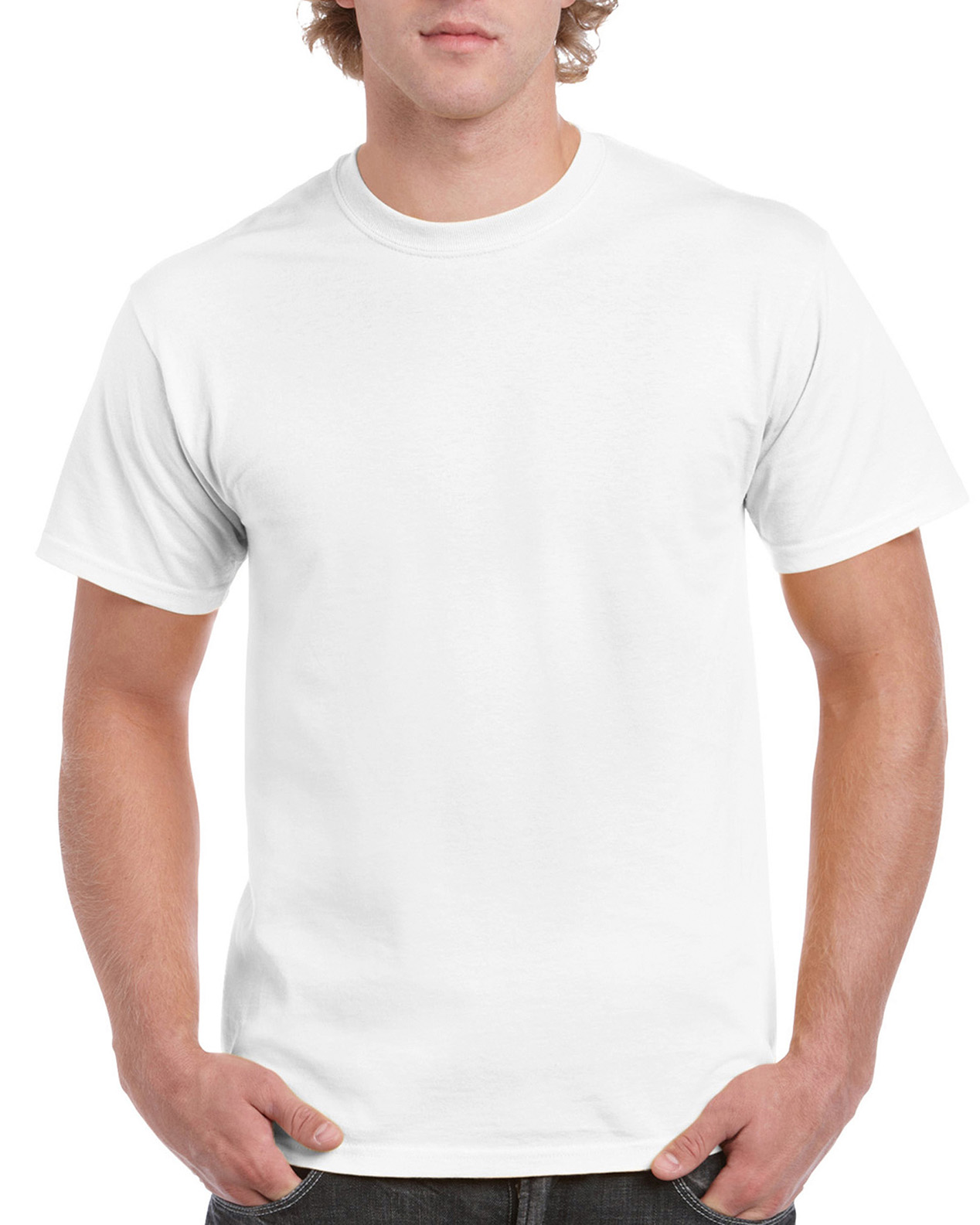 Gildan Hammer Adult T-Shirt H000 - White