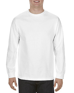 Alstyle Apparel 1304 AAA Long Sleeve T-Shirt - White