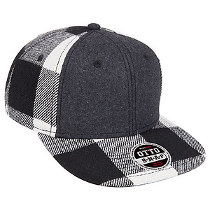 OTTO Wool blend Plaid Snapback