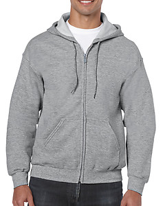 Gildan Full Zip Hooded Sweatshirt 18600 - Colours