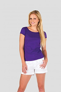Ramo Ladies Puff Sleeve Tee