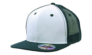 Cotton Flat peak Trucker with Mesh