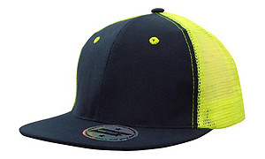 Snap Back Trucker with fluro Mesh