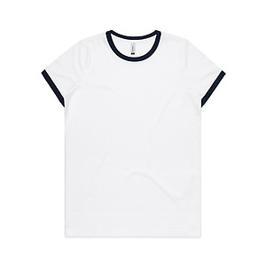 AS Colour Wo's Ringer Tee