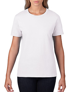 Gildan Premium Cotton Ladies Tee 4100L - Black