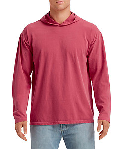 Comfort Colours 4900 CC Long Sleeve Hooded Tee - S-XL