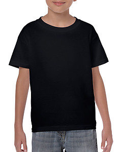 Gildan Youth Heavy Cotton 5000B Tee - Black & Colours