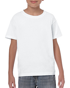 Gildan Youth Heavy Cotton 5000B Tee - White