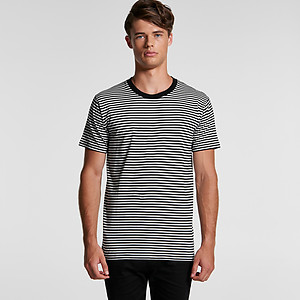 AS Colour Men's Bowery Stripe Tee