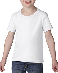 Gildan 5100P Heavy Cotton Toddler Tee - White