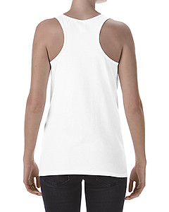 Gildan Ladies Softstyle Racerback Tank - White