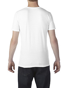 Anvil 6750 Tri-Blend Adult SS Tee - White