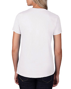 Anvil 790L Ladies Cotton Tee 180gsm - White