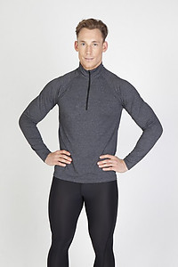 Ramo Mens Heather Half-Zip