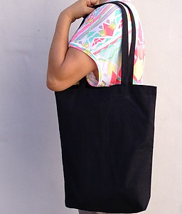 Sling Calico Bag - Black