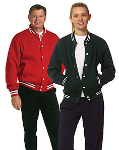 Adult's Fleece Varsity Jacket FL11