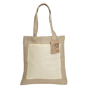 Reforest Jute Tote Backpack