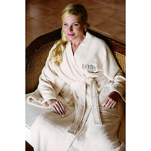 Terry Bathrobe with Collar