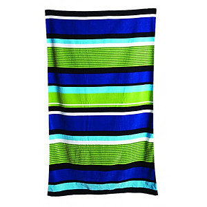 Bright Stripes Beach Towel