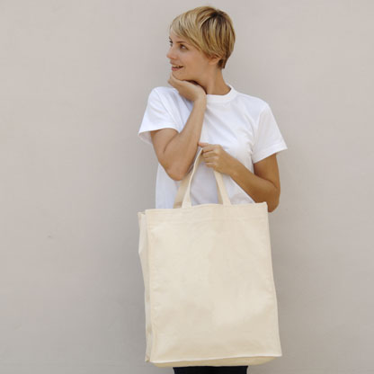Beach Cotton Canvas Bag