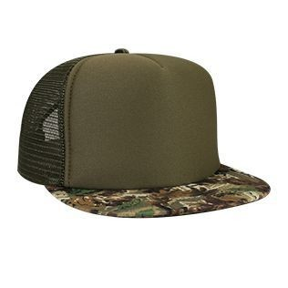 OTTO Camouflage High Crown Trucker