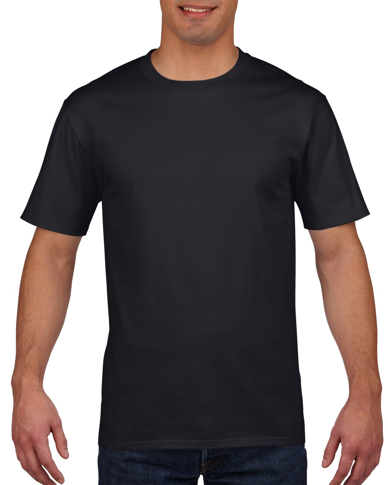 Gildan Premium Cotton Tee 4100 - Black