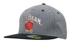 Grey Marle Flannel Snap Back Cap