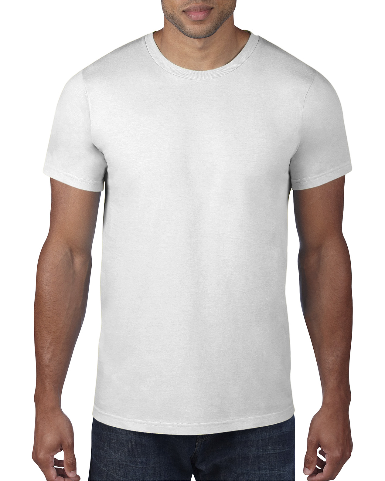 Anvil 980 Cotton Tee 150gsm - White