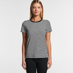 AS Colour Wo's Bowrey Stripe Tee