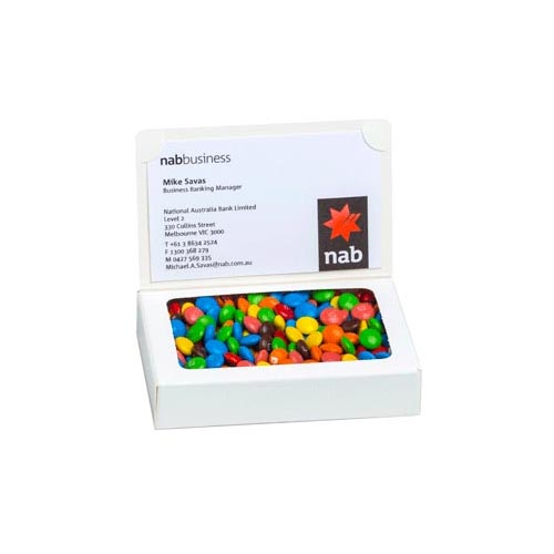 Bizcard Box with 50g M&M bag