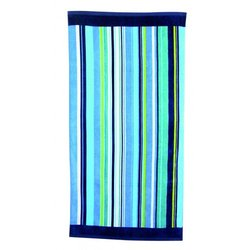 Summer Stripe Beach Towel